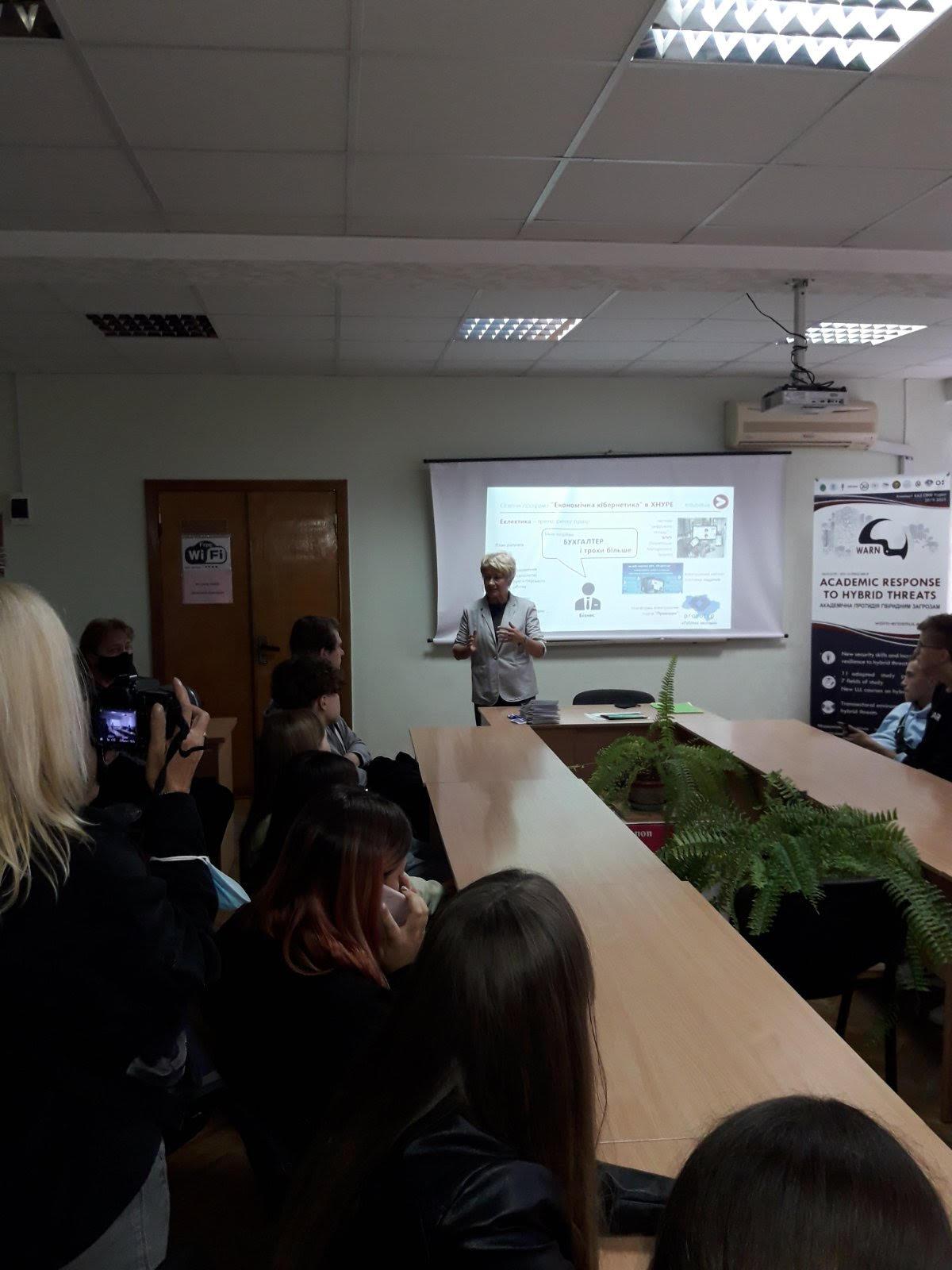 "WARN Project in the ""Science Night in Kharkiv – 2021"""
